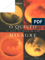 O Quinto Milagre - Paul Davies