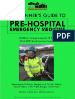 A Beginners Guide to Pre-Hospital Emergency Medicine