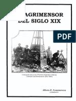 El Agrimensor Del Siglo XIX