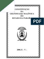 GLEPB - Constituição