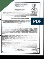 Decreto Conformación Grupo Coordinador PGIRS