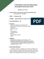 SeminarioRedDigital Programa
