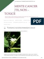 Turmeric_cucurma Tratament Cancer _ TRATAMENTE CANCER EFICIENTE, NON - Toxice