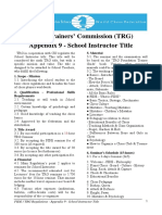 FIDE - TRG Regulations - Appendix 9