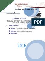 El Derecho Penal Como Ciencia y Tipos Del Derecho Penal (1)