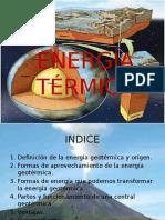 Energia Geotrmica