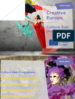 Prezentare CE Creative Europe Culture Cooperation