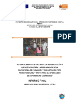 Formacion y Capacitacion Para Promotores