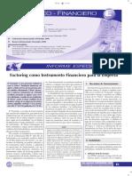 Factoring Como Instrumento Financiero Para La Empresa