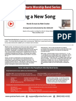 Sing a New Song (BJ Putnam) Rhythm Chart