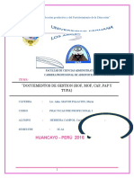 Documentos de Gestion Mof Rof Etc