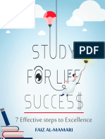 STUDY FOR LIFE SUCCESS(7 STEPS TO EXCELLENCE )