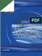 Guía Técnica de Diseño de Proyectos de Agua Potable para Poblaciones Menores a 10.000 Habitantes.pdf