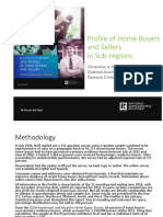 2016 11 04 Profile of Home Buyers and Sellers in Subregions 11-11-2016