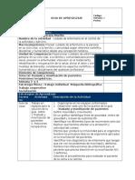 GUIAS de APRENDIZAJE Guía 1. Traslado y Movilizacion de Pacientes, Posiciones.