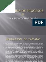 Ing. de Procesos II Reduccion
