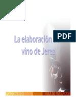 La Elaboración Del Jerez