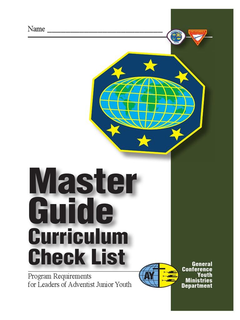 mg card c seventh day adventist church christian movements rh scribd com master guide curriculum check card master guide curriculum 2018