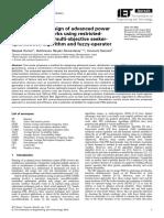 Multi-objective Design of Advanced Power Distribution Networks Using Restrictedpopulation-based Multi-objective Seekeroptimisation-Algorithm and Fuzzy-operator