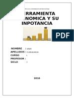 Monografia de Herramienta Economica