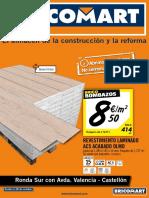 Bricomart Folleto Castellon C de La Plana 24-10-2016