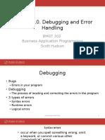 10_Debugging and Error Handling