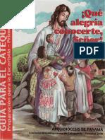 Panama Archidiocesis de - Que Alegria (Libro Del Catequista)
