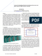 A Simple Lumped Port S-Parameter de-Embedding Method for on-Package-Interconnect and Packaging Component High-Frequency Modeling