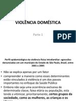 Violencia Domestica Contra Mulher