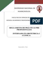 Reglamento Del Practicas Pre Profesionales- 2004- 2008 (Clínico y Rural)