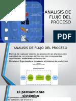 Analisis de Flujo Del Proceso