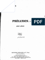 Preludes Messiaen