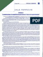 Giorgio Micolitti - Modernizzazione e competitività del paese attraverso il rilancio del trasporto ferroviario