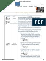 Violin Online - Violin Basics - Additional Skills