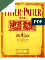 Pitter Patter Rag (Joseph m. Daly, 1910)