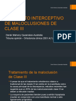 Tramiento Interceptivo de Maloclusiones de Clase III Final