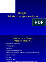 Historia Concepto Cirugia