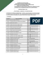 Edital Nº 03 de 11.08.2016 Investigadorescrivao e Papilosocpista - Preliminar Isenção