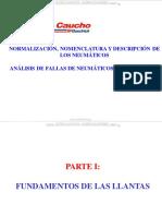 Curso Neumaticos Ruedas Llantas Funciones Fundamentos Partes Dimensiones Componentes Nomenclatura Sistemas