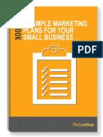 6 Sample Marketing Plans 69