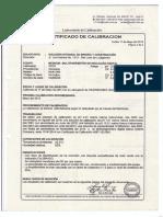 CERTIFICADO CALIBRACION