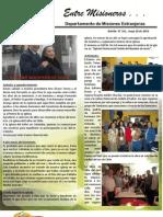 Boletin_161 Informe Misionero de Chile . Mayo 2010