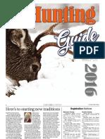 Deer Hunting 2016