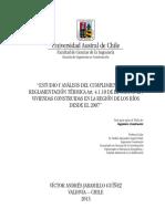 Analisis Cumplimiento Reglamento Termico Los Rios UACH