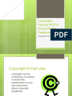 aup copyright social media