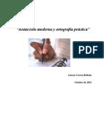 """""""Redacción Moderna y Ortografía Práctica"""" (1)"""