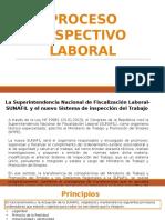 Proceso Inspectivo Laboral.