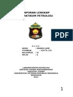 Laporan Lengkap Praktikum Petrologi Oleh Arabus Jairi - 10 31 131 (Teknik Pertambangan Uvri Makassar)