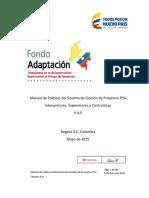 FA - Manual Políticas PSA - V4.0 - 2015-05-05