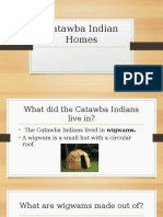 catawba indian homes